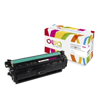OWA Armor toner pro HP Color Laserjet Ese M552, M553, MFP M577, 9500   Stran, CF363X, červená/magenta