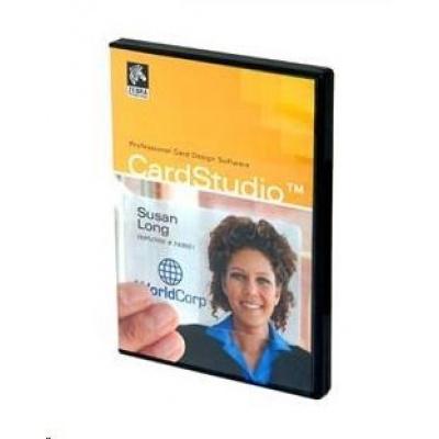 ZEBRA Card Studio - Standard edition, aplikace pro potisk karet