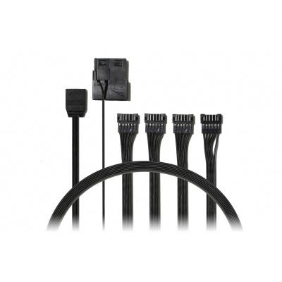 EVOLVEO A1 12V, kabel pro připojení RGB ventilátorů a pásků
