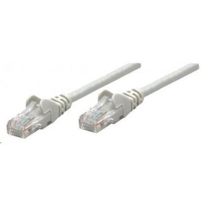 Intellinet patch kabel, Cat6 Certified, CU, UTP, PVC, RJ45, 30m, šedý