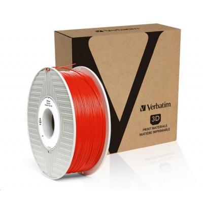 VERBATIM 3D Printer Filament PLA 1.75mm, 335m, 1kg red (OLD PN 55270)