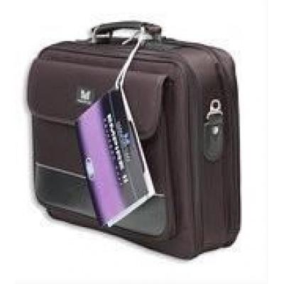 """MANHATTAN taška pro notebooky, Empire II, do 15,6"""", vystužená, polyester, černá/black"""