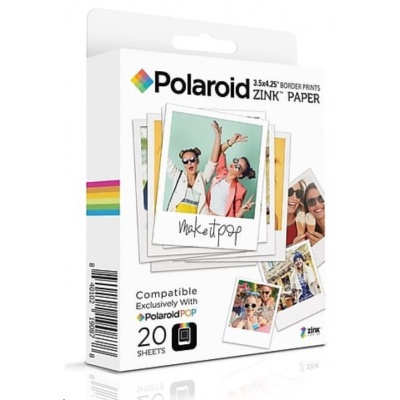 Polaroid Instant Zink Media 3,5X4,25 Pop 20 Pack - poškozený obal
