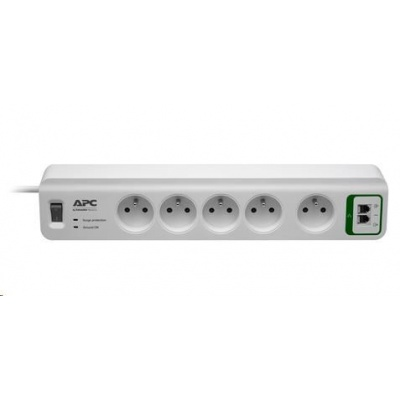 APC Essential SurgeArrest 5 outlets with phone protection 230V France, 1.8m
