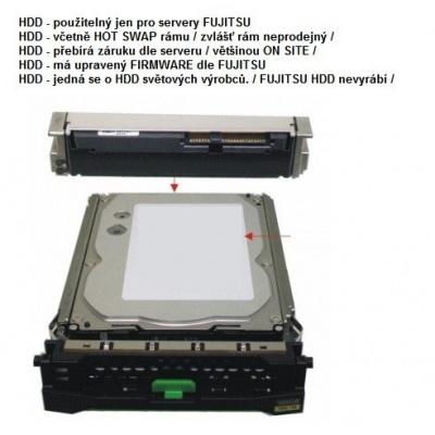 """FUJITSU HDD SRV SAS 12G 4TB 7.2k 512e H-P 3.5"""" BC - TX1330M3 TX1330M4 RX1330M3 RX1330M4"""