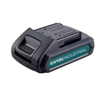Extol Industrial (8791110B) baterie akumulátorová 18V, Li-ion, 2000mAh