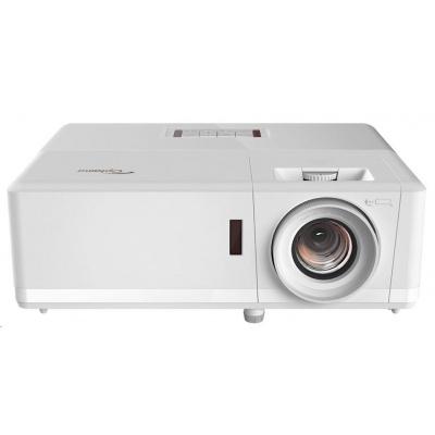 Optoma projektor ZH406 (DLP, FULL 3D, Laser, FULL HD, 4500 ANSI, 300 000:1, HDMI, VGA, repro 2x10W)