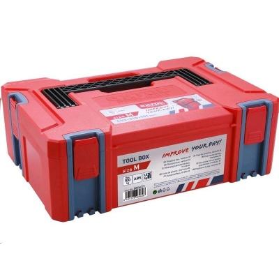 Extol Premium box plastový, M velikost, rozměr 443x310x151mm, ABS 8856071
