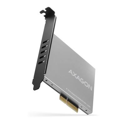 AXAGON PCEM2-NC, PCIe x4 - M.2 NVMe M-key slot adaptér, pasivní chladič