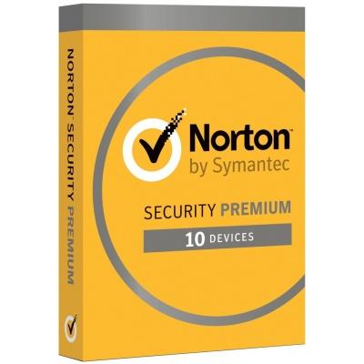 NORTON SECURITY PREMIUM CZ  1 uživatel na 10 zařízení na 3 roky ESD