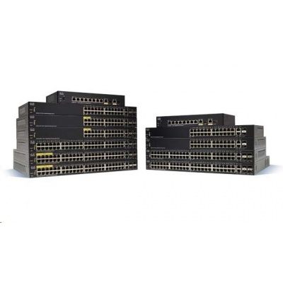 Cisco switch SF250-48, 48x10/100, 2xGbE SFP/RJ-45, 2xSFP