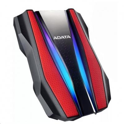 "ADATA Externí HDD 2TB 2,5"" USB 3.2 HD770G, červená"