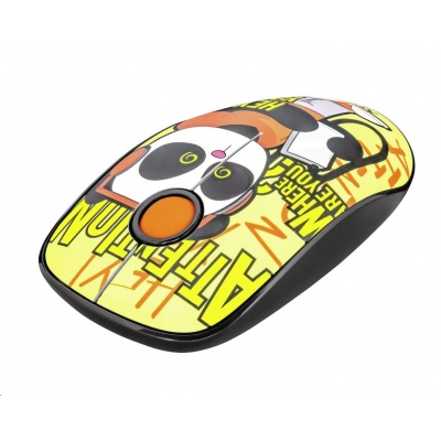 TRUST Myš Sketch Wireless Silent Click Mouse - yellow
