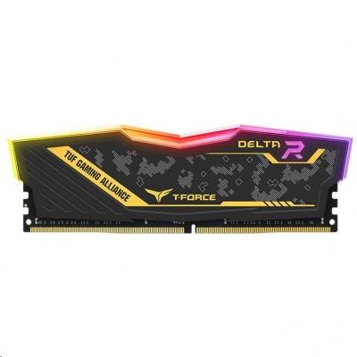 DIMM DDR4 16GB 3200MHz, CL16, (KIT 2x8GB), T-FORCE DELTA TUF Gaming RGB DDR4