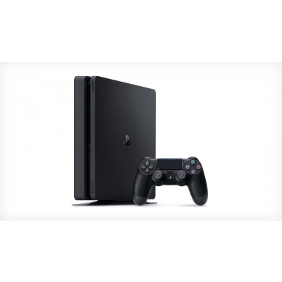 PlayStation 4 F Chassis Black/EAS - 500GB - černý