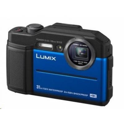 "Panasonic DC-FT7EP-A blue  (20,4 Mpx, 4,6x zoom, 3"" LCD,LVF, 4K video, vodotesný)"