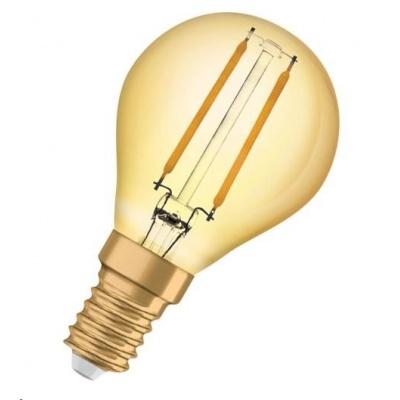 OSRAM Vintage 1906 LED CL P Filament GOLD 2,5W 824 E14 220lm 2400K (CRI 80) 15000h A++ (Krabička 1ks)
