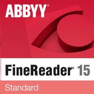ABBYY FineReader PDF 15 Standard, Student Add-On, Perpetual Licenses, EDU, 100 Licenses pack