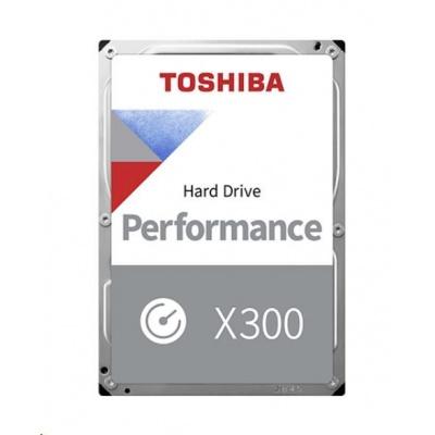 "TOSHIBA HDD X300 10TB, SATA III, 7200 rpm, 256MB cache, 3,5"", BULK"