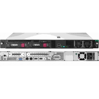 HPE PL DL20G10 E-2224 (3.4G/4C/8M/2666) 1x16G S100i SATA 2LFF HTPL 290W FR NBD333 1U