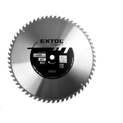 Extol Craft (19128) kotouč pilový s SK plátky, 600x3,0x30mm