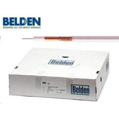 BELDEN H125 CU - koaxiální kabel, průměr 7mm, PVC, impedance 75 Ohm, bílý, 100m