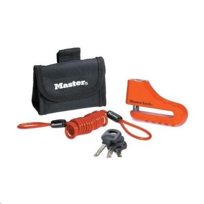 MasterLock 8304EURDPS Zámek kotoučové brzdy s pouzdrem - 104mm