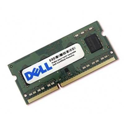 DELL Pamäťový modul s kapacitou 4 GB  DELL – DDR3L – 1600 SODIMM 1RX8 non-ECC LV