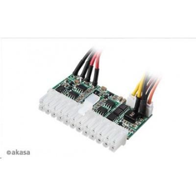 AKASA adaptér AK-PE150-05, 150W DC-to-DC ATX, 4-pin DIN