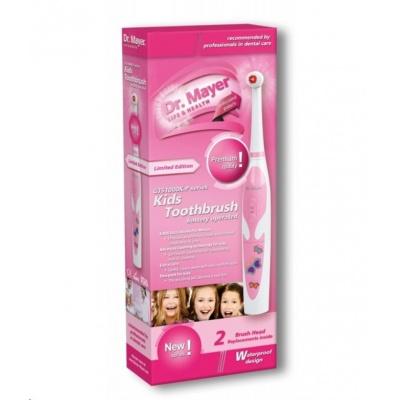 Dr. Mayer GTS1000K-P elektrický zubní kartáček dětský - růžový