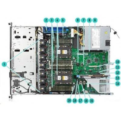 HPE PL DL160g10 4208 (2.1G/8C/11M/2400) 1x16G S100i 8SFF 500W1/2 iLO5 NBD333 1U