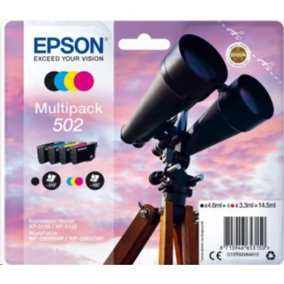 "EPSON ink Multipack ""Dalekohled"" 4-colours 502 Ink"