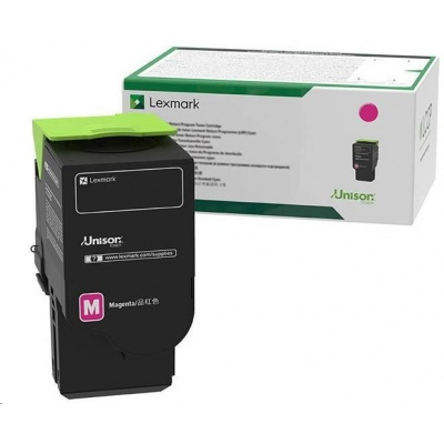 Lexmark purpurový Extra High cap. toner C242XM0 Return program pro pro C2425x,C2535x,MC2425x,MC2535x,MC2640x - 3 500 str