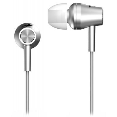 GENIUS sluchátka s mikrofonem HS-M360, stříbrná