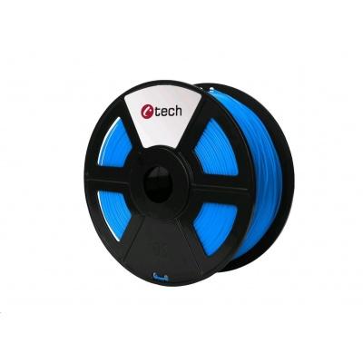 C-TECH Tisková struna (filament) PLA, 1,75mm, 1kg, modrá