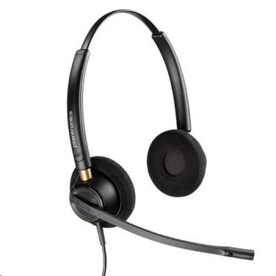 PLANTRONICS náhlavní souprava EncorePro HW520D, digital QD, stereo