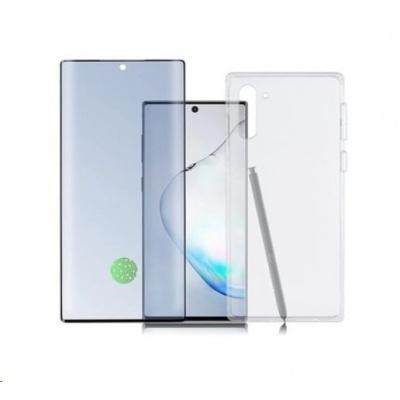 4smarts 360° Premium Protection set (tvrzené sklo UltraSonic a gelový zadní kryt) pro Samsung Galaxy Note 10+
