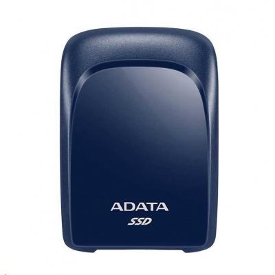 ADATA External SSD 240GB SC680 USB 3.2 Gen2 type C modrá