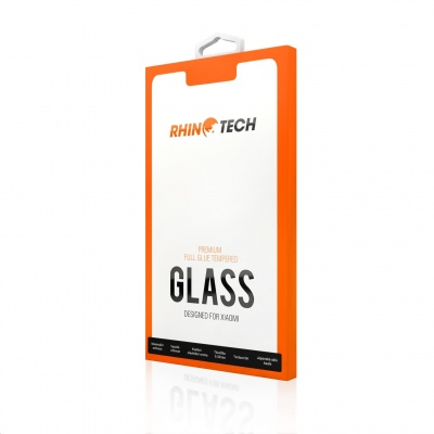 RhinoTech 2 Tvrzené ochranné 2.5D sklo pro Xiaomi Mi A3 (Full Glue) Black