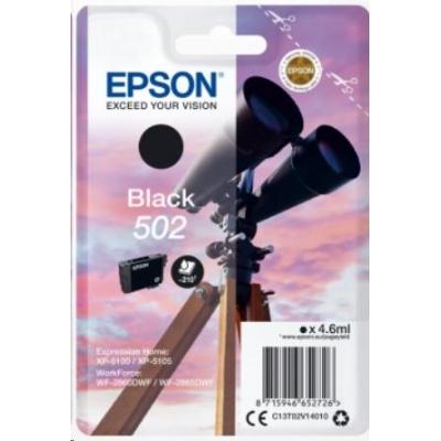 """EPSON ink čer Singlepack """"Dalekohled"""" Black 502 Ink"""
