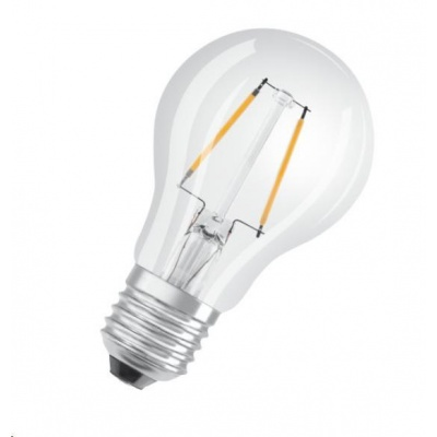OSRAM LED SUPERSTAR CL A Filament 3W 827 E27 250lm 2700K (CRI 80) 15000h A+ DIM (Krabička 1ks)