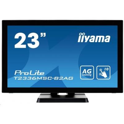 iiyama ProLite T2336MSC-B2AG, 58,4cm (23''), Projected Capacitive, 10 TP, Full HD, black