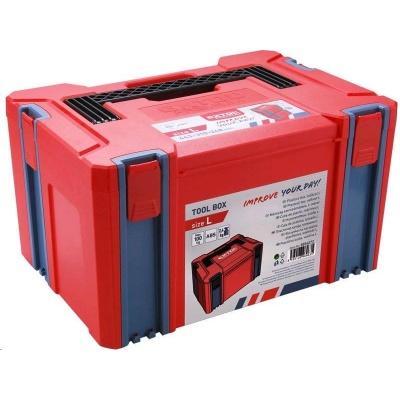 Extol Premium box plastový, L velikost, rozměr 443x310x248mm, ABS 8856072