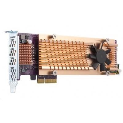 QNAP QM2-4P-384 rozšiřující karta 4xM.2 NVMe