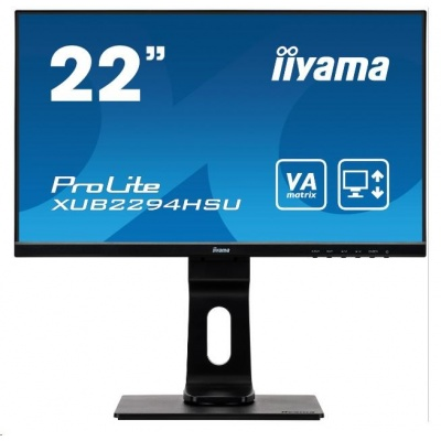 iiyama ProLite XUB2294HSU-B1, 54.6cm (21.5''), Full HD, black