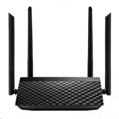 ASUS RT-AC1200 v2 Wireless AC1200 Dualband Router, 4x 10/100 RJ45