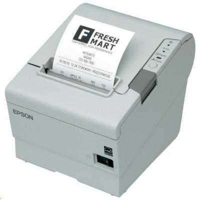 Epson TM-T88V, USB, powered-USB, light grey