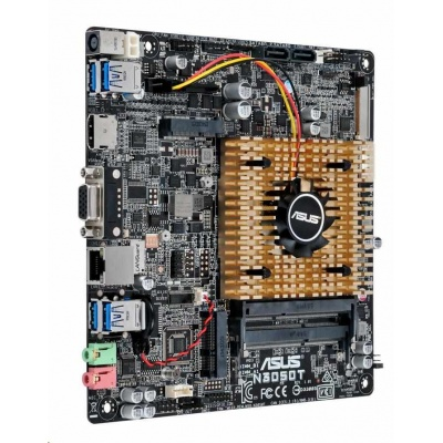 ASUS MB N3050T, Intel® Celeron® Dual-Core N3050, 2x DDR3, VGA, thin mini ITX