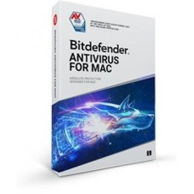 Bitdefender Antivirus  for Mac- 1 MAC na 2 roky- elektronická licence do emailu
