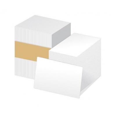 ZEBRA PVC 0,76 (30mil) karty pro ZXP/ZC , balení 500ks karet na potisk, bílá barva